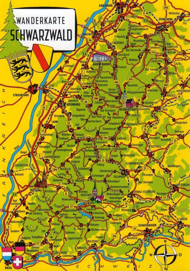 Black Forest Car Travel To Switzerland Rick Steves Travel Forum - Rhine valley germany map